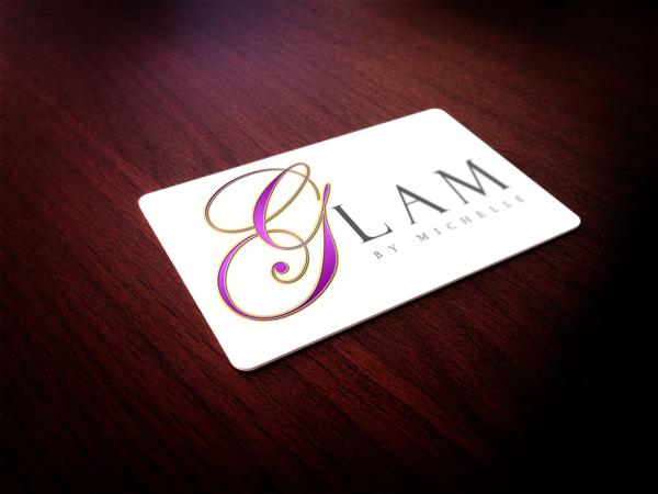 logo design Glam By Michelle